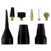 Einhell Aufblas Adapter Set passend für Kompressoren (8-teilig) - 1