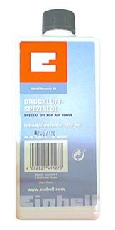 Einhell Spezialöl passend für Druckluftwerkzeuge (Inhalt 500 ml) - 1